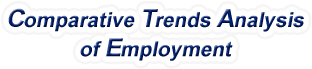 North Carolina - Comparative Trends Analysis of Total Employment, 1969-2016