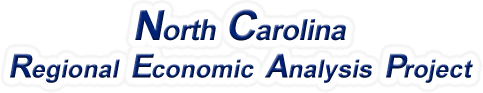 North Carolina Regional Economic Analysis Project