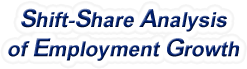 Shift-Share Analysis of North Carolina Employment Growth and Shift Share Analysis Tools for North Carolina